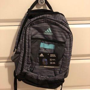 Adidas grey backpack